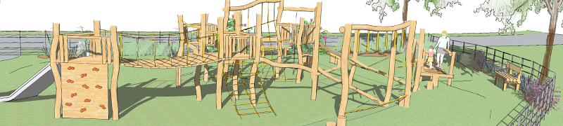 Hardwood Robinia Timber Playground Equipment Manufacture Safety Surfacing Specialist West Sussex East Sussex Surrey Hampshire Berkshire Kent London