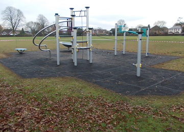 Grass Mats Safety Surfacing - Independent Playground Manufacturer Robinia Timber Equipment Manufacturer Installation West Sussex Hampshire Kent London