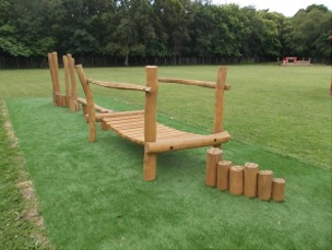 Adventure Trail – Robinia Timber Play Equipment Manufacturer Playground Safety Surfacing Specialist West Sussex East Sussex Surrey Hampshire London