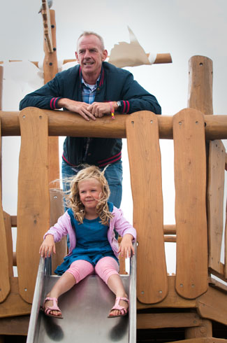 Hove Lagoon Hardwood Robinia Timber Pirate Ship - Robinia Playground Equipment Manufacturer Safety Surfacing Specialist West Sussex Surrey Hampshire London