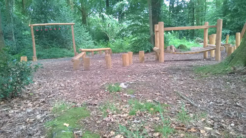 Robinia Timber Adventure Trail Whitestone Walk Chepstow Wales Hardwood Playground Equipment Manufacturer Safety Surfacing Specialist Sussex Hampshire London