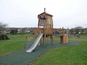 Acorn Unit Play Tower Saltdean Oval Park - Brighton & Hove Council - Robinia Playground Equipment Manufacturer West Sussex Surrey Hampshire London