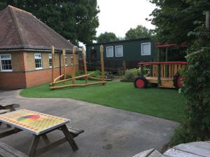 Colliers Green Primary School Cranbrook - Hardwood Robinia Play Equipment - Robinia Manufacturer Surfacing Specialist West Sussex Surrey Hampshire London