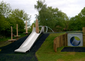 Grass Mats Safety Surfacing - Independent Playground Installation - Safety Surfacing Installer West Sussex Hampshire Kent London