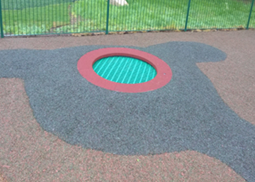 SafaMulch Bonded Rubber Safety Surfacing - Independent Playground Installation - Safety Surfacing Installer West Sussex Surrey Hampshire