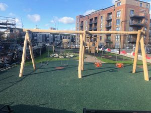 Hevelock Southall Completed Project - Playsafe Playgrounds - Independent Playground Safety Surfacing Installer West Sussex Surrey Hampshire