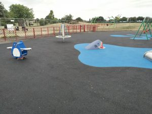 Playsafe Playgrounds - Independent Playground Installation Wet Pour Rubber Safety Surfacing - Safety Surfacing Installer West Sussex Surrey Hampshire