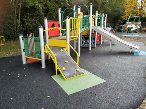 Little Missenden Parish Council - Playsafe Playgrounds - Independent Playground Installation SafaMulch Safety Surfacing West Sussex Surrey Hampshire