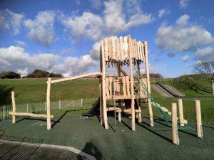 Robinia Play Equipment Installation - SafaMulch - Independent Playground Safety Surfacing Installer West Sussex Surrey Hampshire