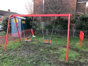 Lewes Play Area Refurbishments - Lewes District Council - Independent Playground Safety Surfacing Installer West Sussex Surrey Hampshire