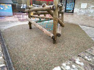 SafaMulch Holy Trinity School Cuckfield - SafaMulch Rubber Surfacing - Independent Playground Safety Surfacing Installer West Sussex Surrey Hampshire