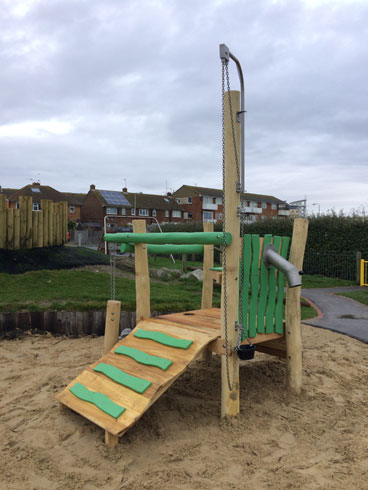 Newhaven Play Area Lewes DC - Robinia Play Equipment Installation - Independent Playground Safety Surfacing Installer West Sussex Surrey Hampshire