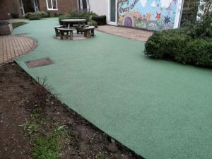 Playsafe Playgrounds - Wet Pour Rubber Surfacing - Independent Playground Safety Surfacing Installer West Sussex Surrey Hampshire