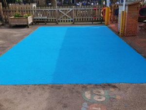 Grove Park Primary School Chiswick - Wet Pour - Independent Playground Safety Surfacing Installer West Sussex Surrey Hampshire