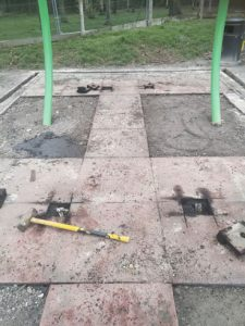 Safamuclh Surfacing - Playsafe Playgrounds Preparation Works - Independent Playground Safety Surfacing Installer West Sussex Surrey Hampshire