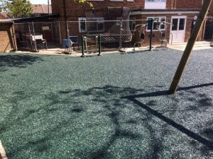 Crawley Safamulch - Playsafe Playgrounds SafaMulch Rubber Surfacing - Independent Playground Safety Surfacing Installer West Sussex Surrey Hampshire