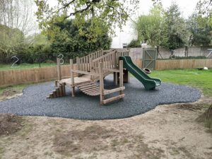 Playsafe Playgrounds SafaMulch Rubber Surfacing - Independent Playground Safety Surfacing Installer West Sussex Surrey Hampshire