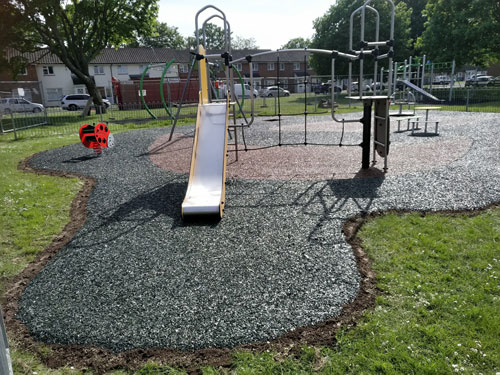 SafaMulch Stamshaw Portsmouth Hampshire - SafaMulch Rubber Surfacing - Independent Playground Safety Surfacing Installer West Sussex Surrey Hampshire