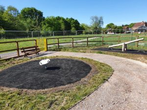 Sandhurst Bloor Homes Berkshire - Grass Matt Surfacing - Independent Playground Safety Surfacing Installer West Sussex Surrey Hampshire