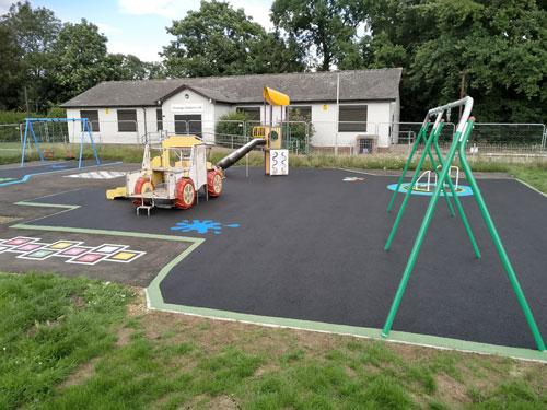 Parsonage Lane Bishops Stortford - Wet Pour - Independent Playground Safety Surfacing Installer West Sussex Surrey Hampshire