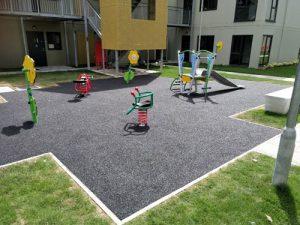 Weighbridge Dagenham Project - Installation - Wet Pour - Safety Surfacing - Independent Playground Safety Surfacing Installer West Sussex Surrey Hampshire