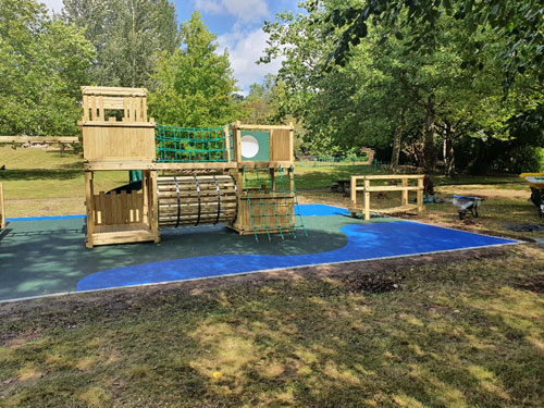 Wet Pour Ascot Home Front - Wet Pour Rubber Surfacing - Independent Playground Safety Surfacing Installer West Sussex Surrey Hampshire