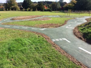 Playsafe Playgrounds - Bicycle Track & Playground Installers - Independent Playground Safety Surfacing Installer West Sussex Surrey Hampshire