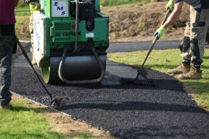 Tarmac Works Easebourne PC - Scooter Track & Playground Installers - Independent Playground Safety Surfacing Installer West Sussex Surrey Hampshire
