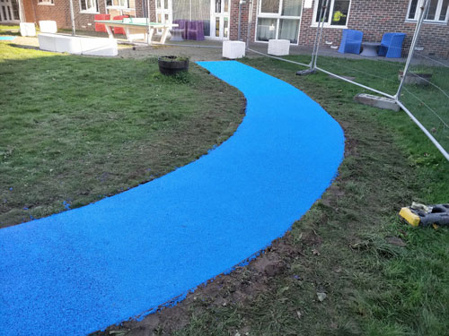 Maple Ward Worthing Wet Pour - Wet Pour Rubber Surfacing - Independent Playground Safety Surfacing Installer West Sussex Surrey Hampshire