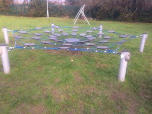 Landport Road Lewes DC Net Structure Playground Installers Sussex - Independent Playground Safety Surfacing West Sussex Surrey Hampshire