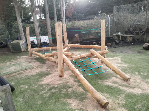 Barnes Primary School London - Playground Installers Sussex - Independent Playground Safety Surfacing West Sussex Surrey Hampshire