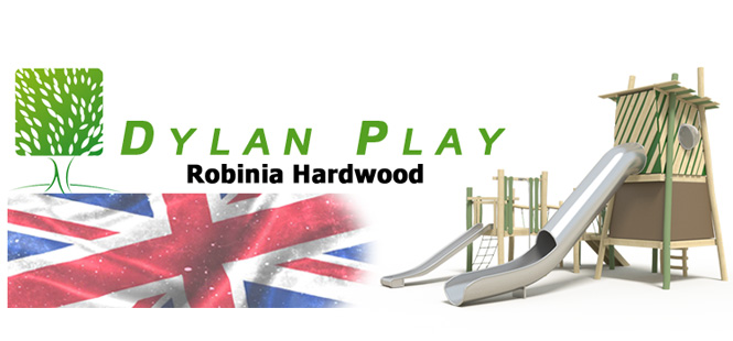 Dylan Play Hardwood Robinia Timber Playground Equipment Manufacture BSEN1176 West Sussex East Sussex Surrey Hampshire Berkshire Kent London