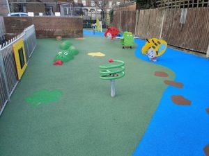 Wet Pour Heacham Avenue Uxbridge - Play Area - Wet Pour - Independent Playground Safety Surfacing Installer West Sussex Surrey Hampshire