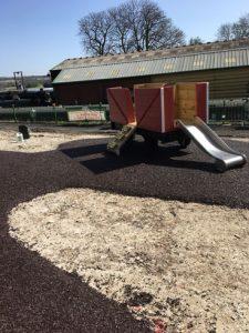 Watercress Line New Alresford - SafaMulch Rubber Surfacing - Independent Playground Safety Surfacing Installer West Sussex Surrey Hampshire