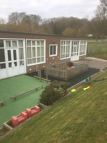 Bevendean Primary Wet Pour - Wet Pour Rubber Surfacing - Independent Playground Safety Surfacing Installer West Sussex Surrey Hampshire