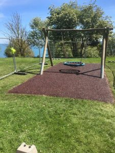SafaMulch Nothe Gardens Weymouth - SafaMulch Rubber Surfacing - Independent Playground Safety Surfacing Installer West Sussex Surrey Hampshire